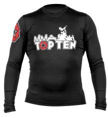 Рашгард TOP TEN MMA long sleeve