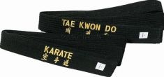 Пояс Black Top Ten TAEKWON-DO