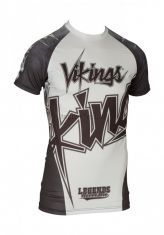 "Рашгард TOP TEN ""Vikings"" short sleeve"